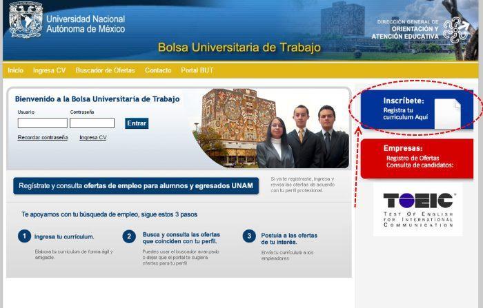 Bolsa de Trabajo UNAM