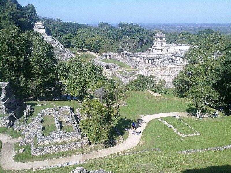 Imagen: Parque Palenque, en Chiapas, México. Wikimedia.